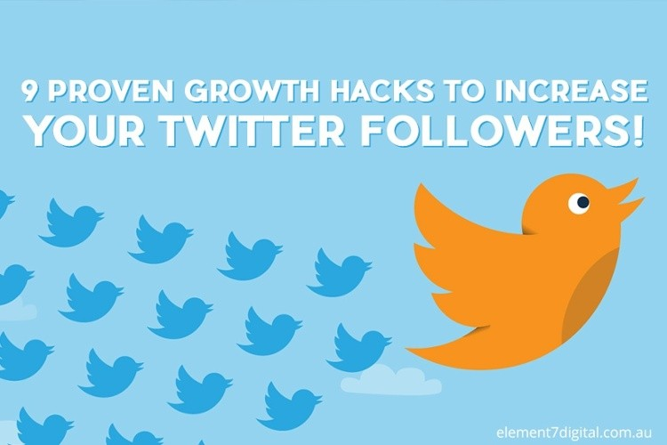 9 Proven TWITTER Growth Hacks! - Business Process